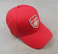 Кепка футбольная Арсенал (красная)