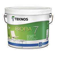 Teknos Biora 7 9 л База 1 матовая акрилатная краска для внутренних стен
