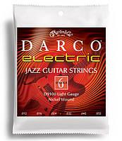 Струни для електрогітари MARTIN D9100 DARCO Electric Jazz Light (12-52)