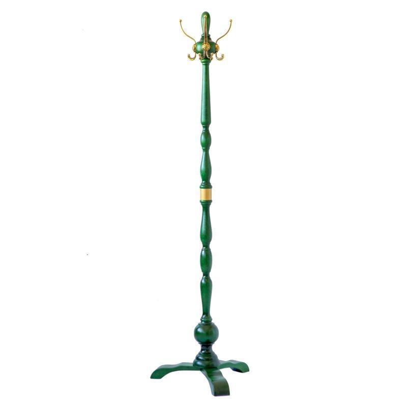 Вешалка напольная Абсолют 4 (натуральное дерево, металл)