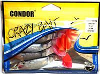 Силиконовый виброхвост Condor CH3.5RM, цвет 148, 90мм, 5шт, фото 1