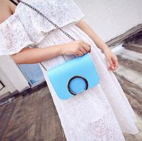 Женская сумка через плечо Silver Голубой