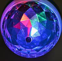 Диско лампа LED mini Party Light вращающаяся Е27