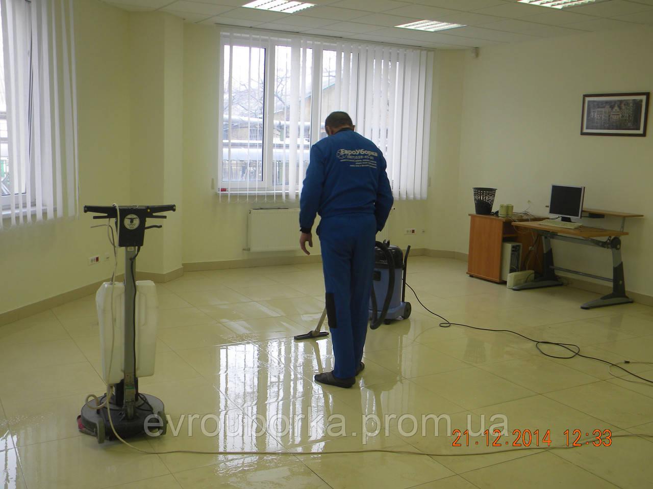 "Кристаллизация мрамора в Одессе и области от компании""ЕВРОУБОРКА"""