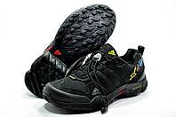 Кроссовки мужские в стиле Adidas Terrex  X-King, Чёрные