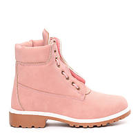801da18784f9 Розовые трекинговые женские ботинки в стиле Timberland 178329 41,40,39