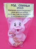 Статуэтка Свинка денежная 7*5 см, фото 3