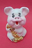 Статуэтка Свинка денежная 7*5 см, фото 2