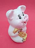 Статуэтка Свинка денежная 7*5 см, фото 5