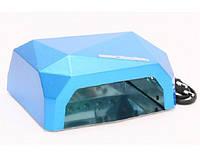 УФ LED+CCFL лампа (таймер 10, 30, 60сек) 36 Вт (голубая)