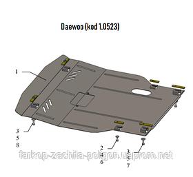Защита картера Daewoo Gentra с 2013 г.