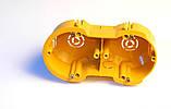 Установочные коробки под гипсокартон модульные двойние (мультибоксы) для розеток и выключателей., фото 2