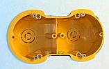 Установочные коробки под гипсокартон модульные двойние (мультибоксы) для розеток и выключателей., фото 4
