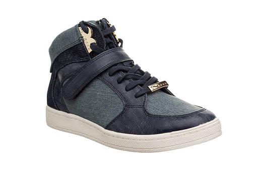 Жіночі черевики Tamaris Blau Kombi 37 Navy, фото 2