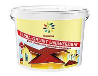 Краска-грунт универсальная с кварцевым песком ТМ «Colorina» 14 кг.