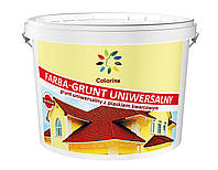 Краска-грунт универсальная с кварцевым песком ТМ «Colorina» 1,4 кг.
