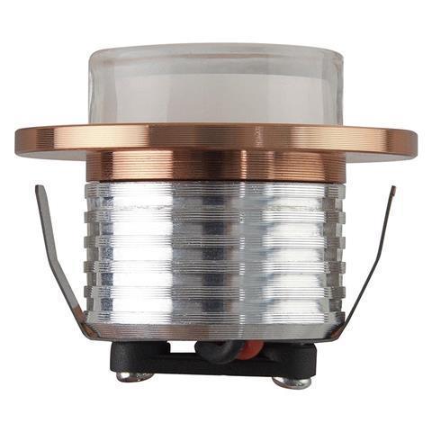 Светильник светодиодный встраиваемый Horoz Electric Bella 3 Вт 4200К круг бел.