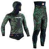 Гідрокостюм для підводного полювання Cressi-sub SCORFANO 7мм (куртка+ штани з лямками ), фото 3