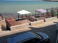 Пляжный отдых летом на море в Крыму 2017, Николаевка! Сдам частный дом, цена лета, до моря 24м!