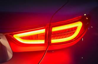 Диодные фонари LED тюнинг оптика Mazda 6 GJ красные