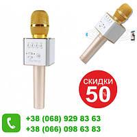 Беспроводной микрофон караоке bluetooth Wireless Q9 GOLD