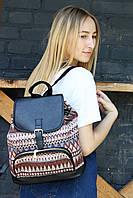 Рюкзак женский Этно коричневый
