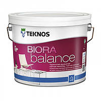 Teknos Biora Balance 0,9 л База 1 матовая акрилатная краска для сухих помещений