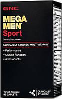 Витамины GNC Mega Men Sport, 90  tabl, фото 1