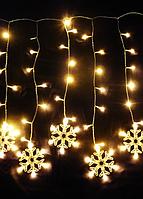 Внешнее праздничное светодиодное освещение