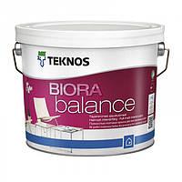 Teknos Biora Balance 9 л База 3 матовая акрилатная краска для сухих помещений 9 л База 3