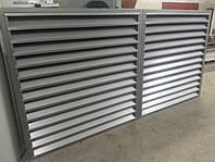 Заборы жалюзи из металлического профиля по низкой цене