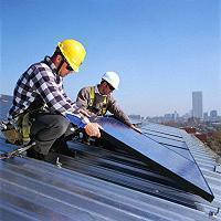 Монтаж солнечных коллекторов (гелиосистемы)