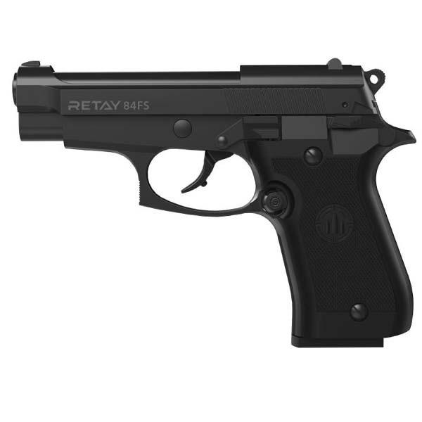 Стартовый пистолет Retay 84FS. Цвет - Black