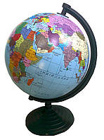 Глобус политический, диаметр 260 мм.