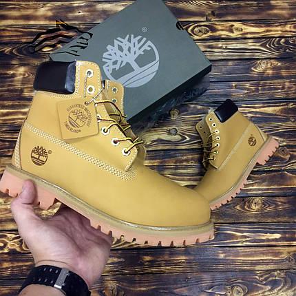 Зимние ботинки на меху Timberland Classic Premium