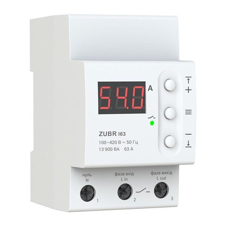 Реле контроля напряжения  D63 ZUBR