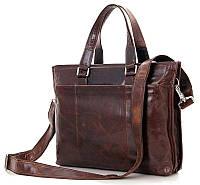 Сумка мужская Vintage 14399 Коричневая, Коричневый