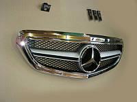 Решетка радиатора Mercedes E-class W212 2013-... Chrome