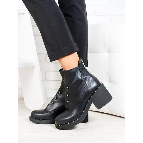 9d1f013c85656c Ботинки (ботильоны) кожаные