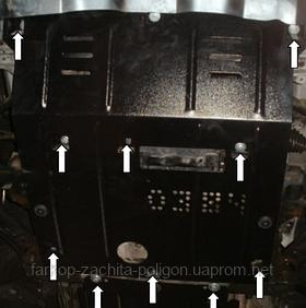 Защита картера Daihatsu Terios с 2007 г.