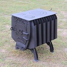 Печь на дровах булерьян с радиаторами, фото 3