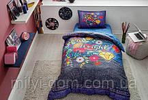 Набор подросткового постельного белья TAC  Shine  (простынь на резинке)