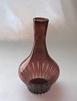 Графин для вина без пробки цвета марганец  с алмазной гранью С-11550001А