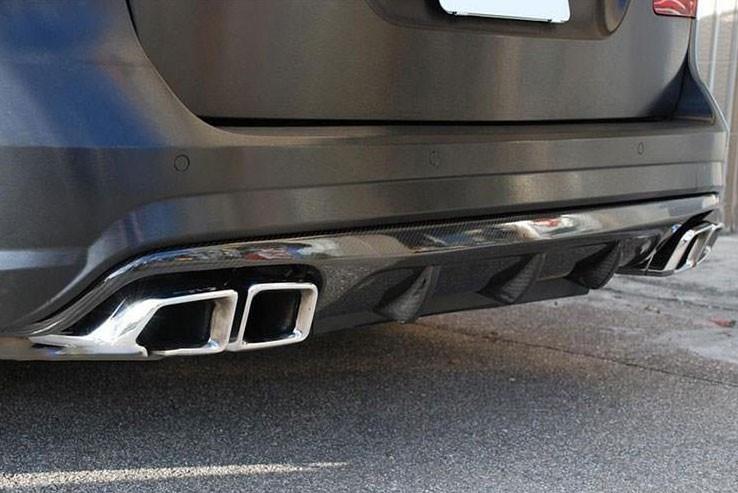 Насадки на выхлопные трубы Mercedes E-class W212 стиль AMG