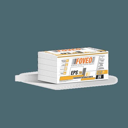 Пінополістирол EPS-70 (13,5кг/м3),   50мм, 0,3м3 / уп. ФОВЕО