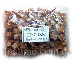 Тростниковый коричневый сахар 100% натуральный, кубики DUONG 200г (Вьетнам)