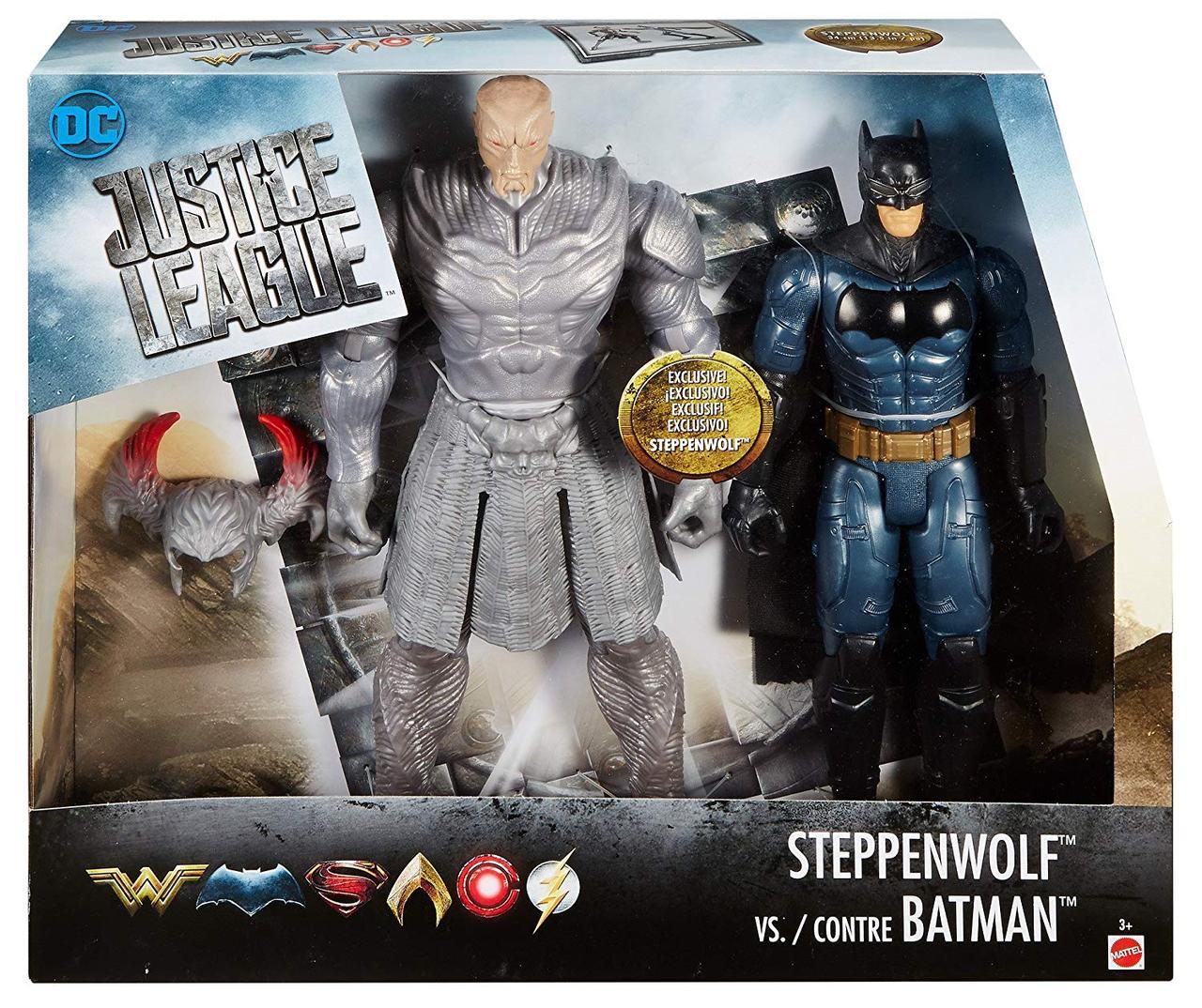 Бэтмен и Степпенвульф набор больших фигурок DC Justice League
