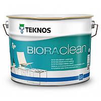 Teknos Biora Clean 0,9 л База 1 матовая, водоразбавляемая акрилатная краска