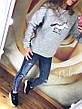 """Женский свитшот на флисе """"Единорог, фото 2"""