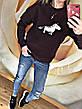"""Женский свитшот на флисе """"Единорог, фото 4"""